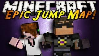 Minecraft: Epic Jump Map Part 2!