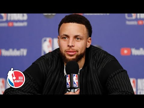 Steph Curry Game 1 postgame: Pascal Siakam, shaking off the rust, & more | 2019 NBA Finals