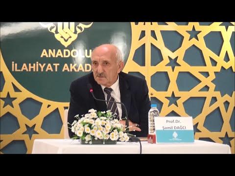 Prof. Dr. Şamil DAĞCI ile ''İmam Şafiî'' Konulu Seminer..