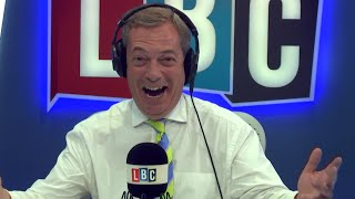 The Nigel Farage Show: Donald Trump's transgender military ban. Live LBC - 26th July 2017. (Edited Version)