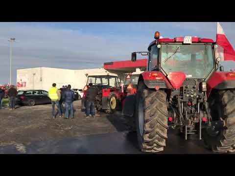 Wideo1: Protest rolników w Gostyniu
