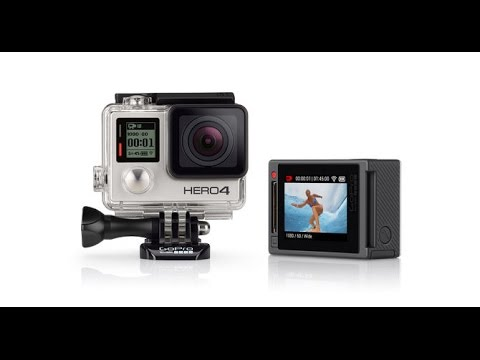 GoPro Hero 4 Silver unboxing, setup for watersports