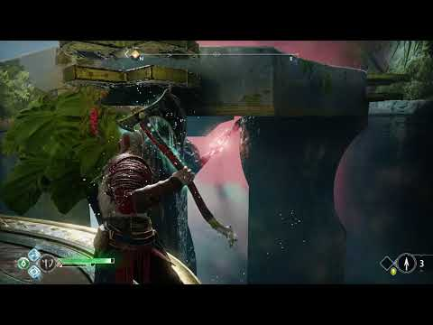 God of War Open Coffin Chest Near Ringed Temple End