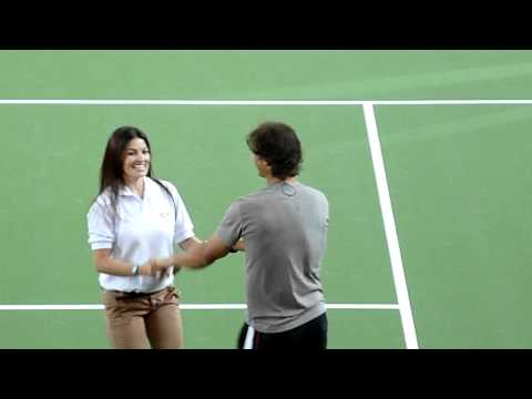 Djokovic & Nadal Salsa Dance in Colombia-2011
