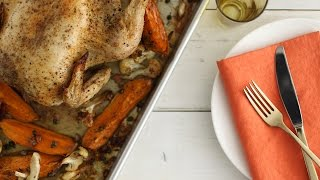 Roast Chicken with Cauliflower and Sweet Potatoes - Everyday Food with Sarah Carey by Everyday Food