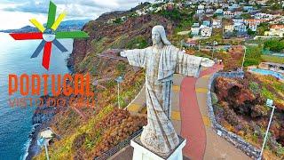 Cristo Rei do Garajau e Praia - Madeira