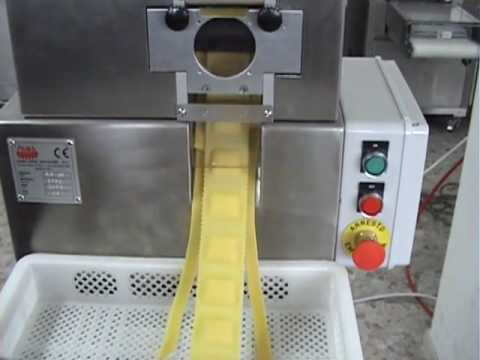 Restaurant  Pasta Machine PAMA ROMA: pasta extruder and electric ravioli machine