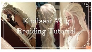 Hey guys! Here's another tutorial based on Dany's hair in season one. I like really dynamic braids and hadn't seen any wig tutorials so hopefully it helps.
