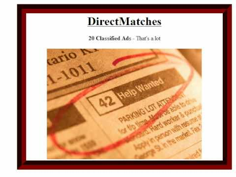 Best Value in small business advertising and promotions. Internet Marketing on a budget.