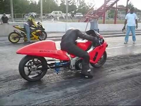 death drag race - suzuki turbo hayabusa