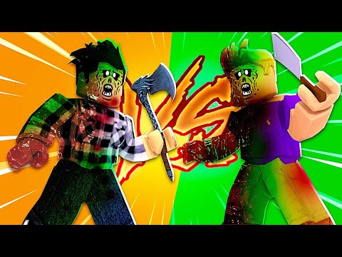Furious Zombie VS Overspes Zombie