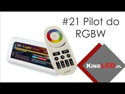 Pilot Mi Light - do taśmy LED RGBW  #21 - Poradnik od KINGLED_pl