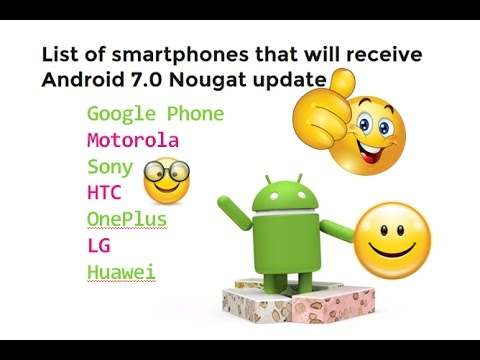 , title : 'List of Phones Start Getting Android 7 Nougat Updates'