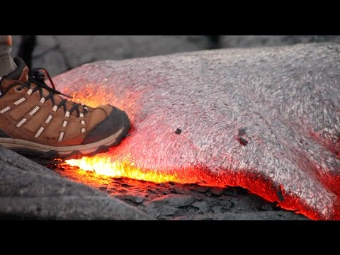 What you can learn from a quick step on hot lava. (видео)
