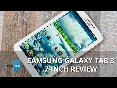 inch - For more details, check out our web site: http://www.phonearena.com/reviews/Samsung-Galaxy-Tab-3-7-inch-Review_id3512 The Samsung Galaxy Tab 3 7-inch is the ...