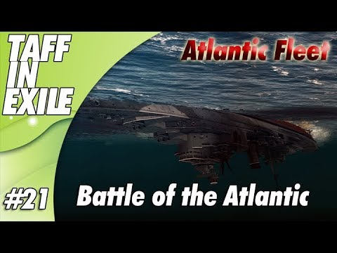 Atlantic Fleet |  Battle Of Atlantic | Part 21 - The HOOD!!!!!