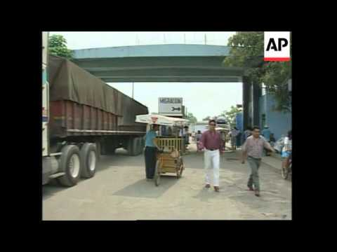 GUATEMALA: THOUSANDS OF ILLEGAL IMMIGRANTS STRANDED ON BORDER
