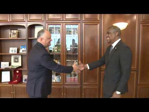 Președintele Republicii Moldova a avut o întrevedere de lucru cu Ambasadorul SUA