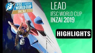 IFSC World Cup Inzai 2019 - Lead Highlights by International Federation of Sport Climbing