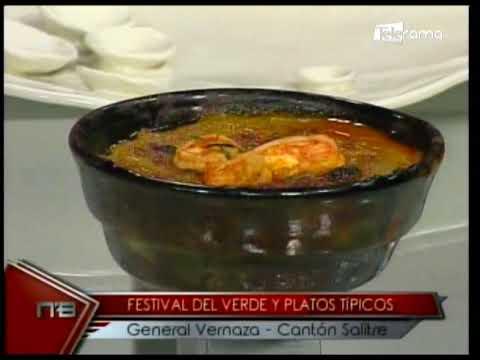 Festival del Verde y Platos Típicos General Vernaza Cantón Salitre