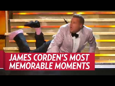 Grammy Awards 2017: James Corden's Most Memorable Opening Moments