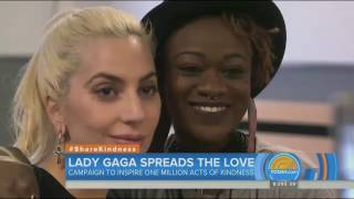 Lady Gaga At The Ali Forney LGBTQ Center (Today Show) - #ShareKindness