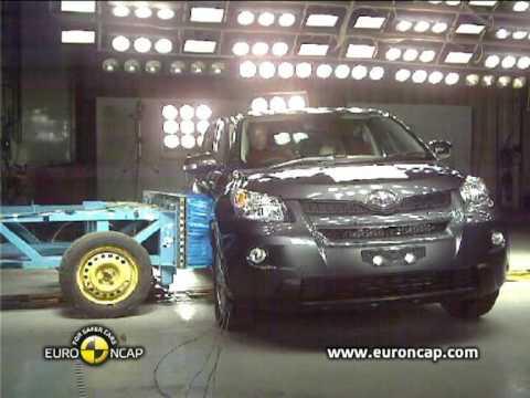Toyota Urban Cruiser euroncap çarpışma / güvenlik testi videosu