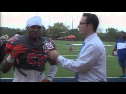 Carson-Newman Football: Darius Morris post-Brevard 10-10-15