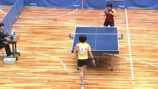 世界卓球2015蘇州 女子日本代表選手選考会 2日目