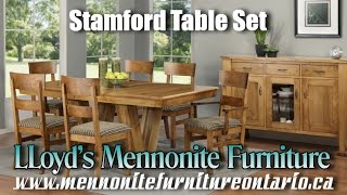 Mennonite Stamford Table and Chairs