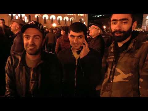 АРМЯНСКИЙ    МАЙДАН.   Чем заканчивается каждый день армянской революции - DomaVideo.Ru