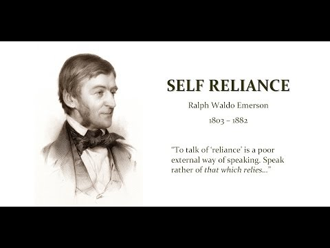 self reliance essay 2