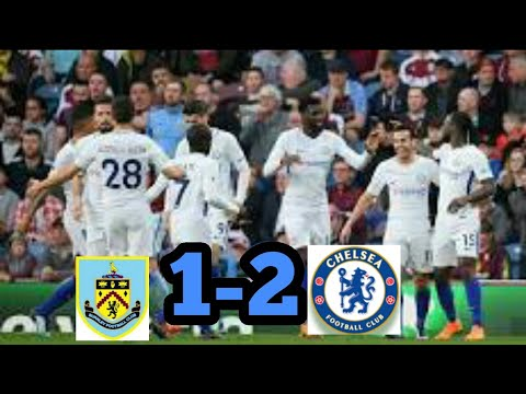 Burnley vs Chelsea 1-2 Hasil Pertandingan Tadi Malam 19-4-2018.