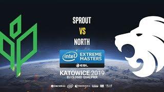 Sprout vs North - IEM Katowice EU Minor QA - map1 - de_nuke [Pchelkin]