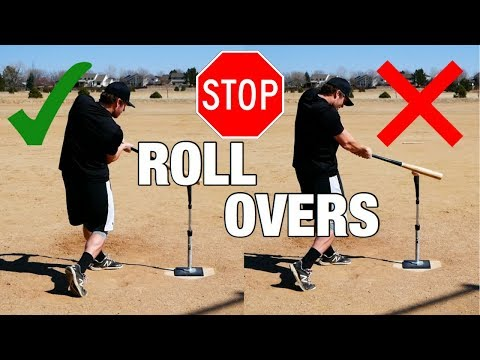 "How To Stop ""Rolling Over"" - (3 Quick Fixes And Hitting Drills!)"