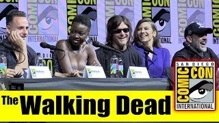 The WALKING DEAD | Comic Con 2018 Full Panel (Andrew Lincoln, Norman Reedus, Lauren Cohan)