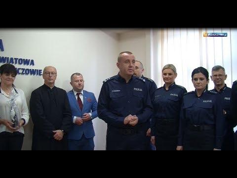 Spotkanie opłatkowe w Komendzie Powiatowej Policji we Włoszczowie