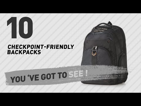 Checkpoint-Friendly Laptop Backpacks // The Most Popular 2017