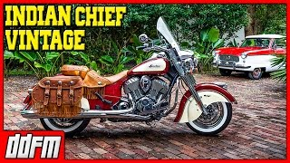 6. 2015 Indian Chief Vintage First Ride - Moto vLog