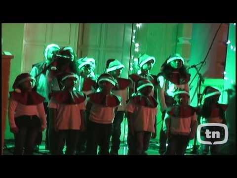 TN TV Mostra a lina cantata de Natal, Janelas para o Mundo com crianças do Patronato.