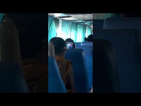 Munkki katselee kännykästään pornoa bussimatkalla