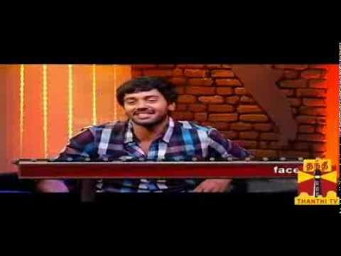 Thenali Darbar   Actor Ashwin 15 10 2013 Thanthi TV