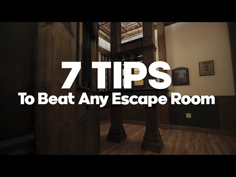7 Tips to Beat Any Escape Room