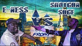E Ness vs Shotgun Suge Battle (Live In Philly) KLBL League