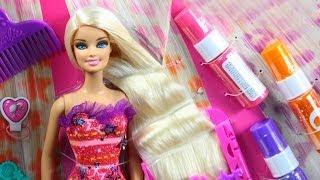 Szczegóły na stronie: http://sklep.megadyskont.pl/pl/studio-fryzjerskie-barbie-mattel-x2345.html Dziewczynki mogą teraz zostać...
