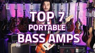 Download Lagu What's The Best Portable Bass Amp? Our Top 7 Best Small Bass Amps Mp3