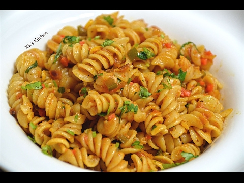 Indian Style Pasta Recipe | Spicy Masala Pasta | Quick & Easy Masala Pasta |Veg Pasta Recipe