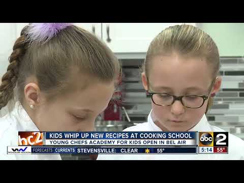 Kids Learn To Whip Up New Recipes At Young Chefs Academy