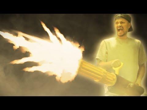 Nerf Gatling Gun Mod - Target Practice