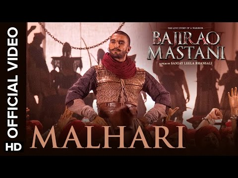 Malhari Official Video Song with Lyrics | Bajirao Mastani | Ranveer Singh